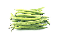 Broad bean pods Royalty Free Stock Photo