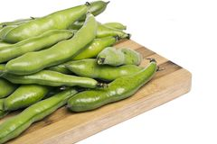 Broad beans Royalty Free Stock Images