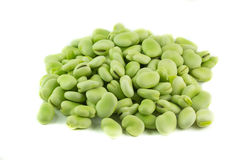 Broad beans Royalty Free Stock Image