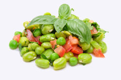 Broad Beans Salad Royalty Free Stock Photography
