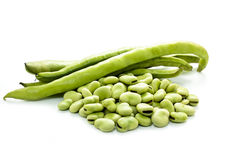 Broad beans Royalty Free Stock Photo