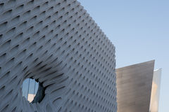 The Broad and Disney Hall Stock Photo