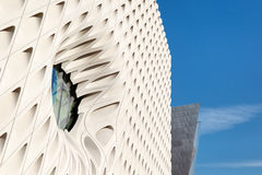 The Broad and Disney Hall Royalty Free Stock Images