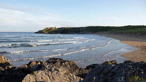 Broad haven beach in Pembrokeshire Wales Royalty Free Stock Images