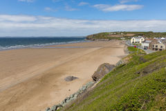Broad Haven Pembrokeshire Wales UK Royalty Free Stock Photos