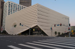 The Broad in Los Angeles. Royalty Free Stock Photos