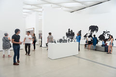 The Broad museum Royalty Free Stock Images