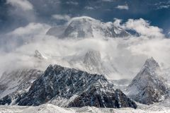 Broad Peak Royalty Free Stock Photos