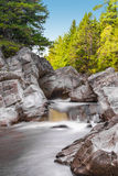 Broad River Along Moose Horn Trail Royalty Free Stock Photography