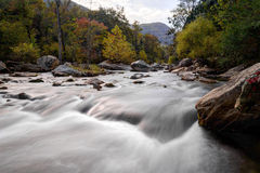 Broad River Rapids Lake Lure North Carolina Royalty Free Stock Photography