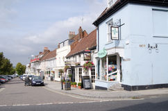 Broad Street, Alresford Royalty Free Stock Images