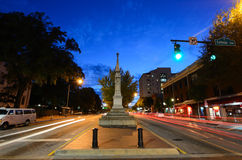 Broad Street in Athens, Georgia royalty free stock images