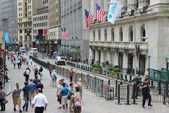 Broad Street, New York Royalty Free Stock Photo