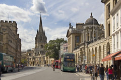 Broad Street in Oxford Stock Image