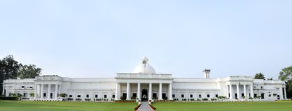 Broad view of ancient administrative building of IIT Roorkee Royalty Free Stock Photography