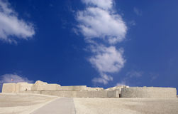 Broad view of Bahrain fort, photo looking North Royalty Free Stock Photography