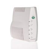 Broadband modem isolated on white background Stock Photos