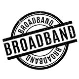 Broadband rubber stamp Stock Photography