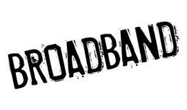 Broadband rubber stamp Royalty Free Stock Photos