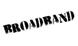 Broadband rubber stamp Stock Photo
