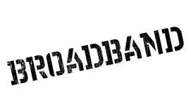 Broadband rubber stamp Stock Photos