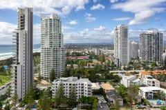 Broadbeach στο Gold Coast στο Queensland στοκ εικόνες