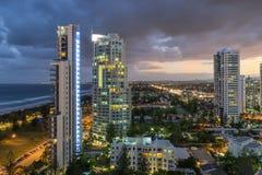 Broadbeach στο Gold Coast στο Queensland στοκ φωτογραφίες
