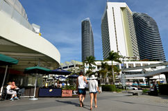 Broadbeach Gold Coast Queensland Australien Royaltyfria Bilder