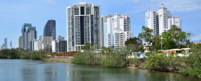 Broadbeach Gold Coast Queensland Australien Stockbild