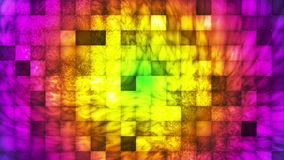 Broadcast Abstract Hi-Tech Smoke Tile Patterns 13 stock video footage