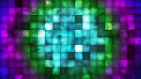 Broadcast Abstract Hi-Tech Smoke Tile Patterns 02 stock footage