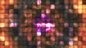 Broadcast Abstract Hi-Tech Smoke Tile Patterns 03 stock footage