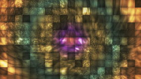Broadcast Abstract Hi-Tech Smoke Tile Patterns 10 stock video