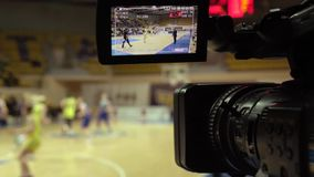 Broadcast basketball.