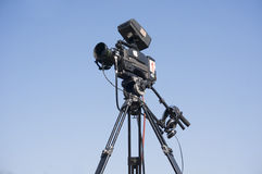 Broadcast camera Royalty Free Stock Photo
