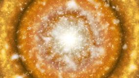 Broadcast Hi-Tech Firey Celestial Body 02 stock video footage