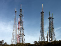 Broadcast tower Stock Photography