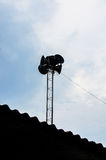 Broadcast tower Stock Image