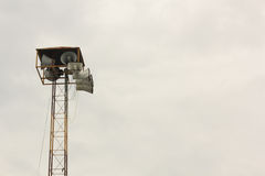 Broadcast tower. For information in the Village Stock Photography