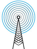 Broadcast tower Royalty Free Stock Images