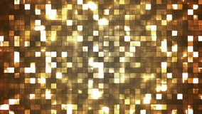 Broadcast Twinkling Firey Light Squares 10 stock video