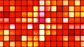 Broadcast Twinkling Hi-Tech Cubes 05 stock video footage
