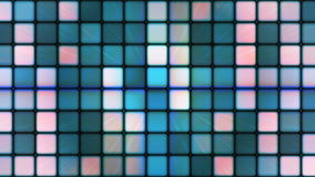 Broadcast Twinkling Hi-Tech Cubes 09 stock footage