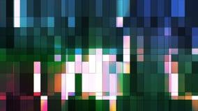 Broadcast Twinkling Hi-Tech Small Bars 09 stock video footage