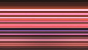 Broadcast Twinkling Horizontal Hi-Tech Bars, Multi Color, Abstract, Loopable, 4K royalty free illustration