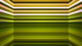 Broadcast Twinkling Horizontal Hi-Tech Bars Shaft, Green, Abstract, Loopable, 4K. Thank you for choosing this Background stock video