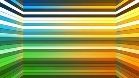 Broadcast Twinkling Horizontal Hi-Tech Bars Shaft, Multi Color, Abstract, Loopable, 4K. Thank you for choosing this Background stock footage