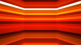 Broadcast Twinkling Horizontal Hi-Tech Bars Shaft, Orange, Abstract, Loopable, 4K. Thank you for choosing this Background stock footage