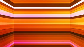Broadcast Twinkling Horizontal Hi-Tech Bars Shaft, Orange, Abstract, Loopable, 4K. Thank you for choosing this Background stock video