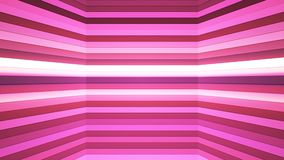 Broadcast Twinkling Horizontal Hi-Tech Bars Shaft, Pink, Abstract, Loopable, 4K. Thank you for choosing this Background stock video